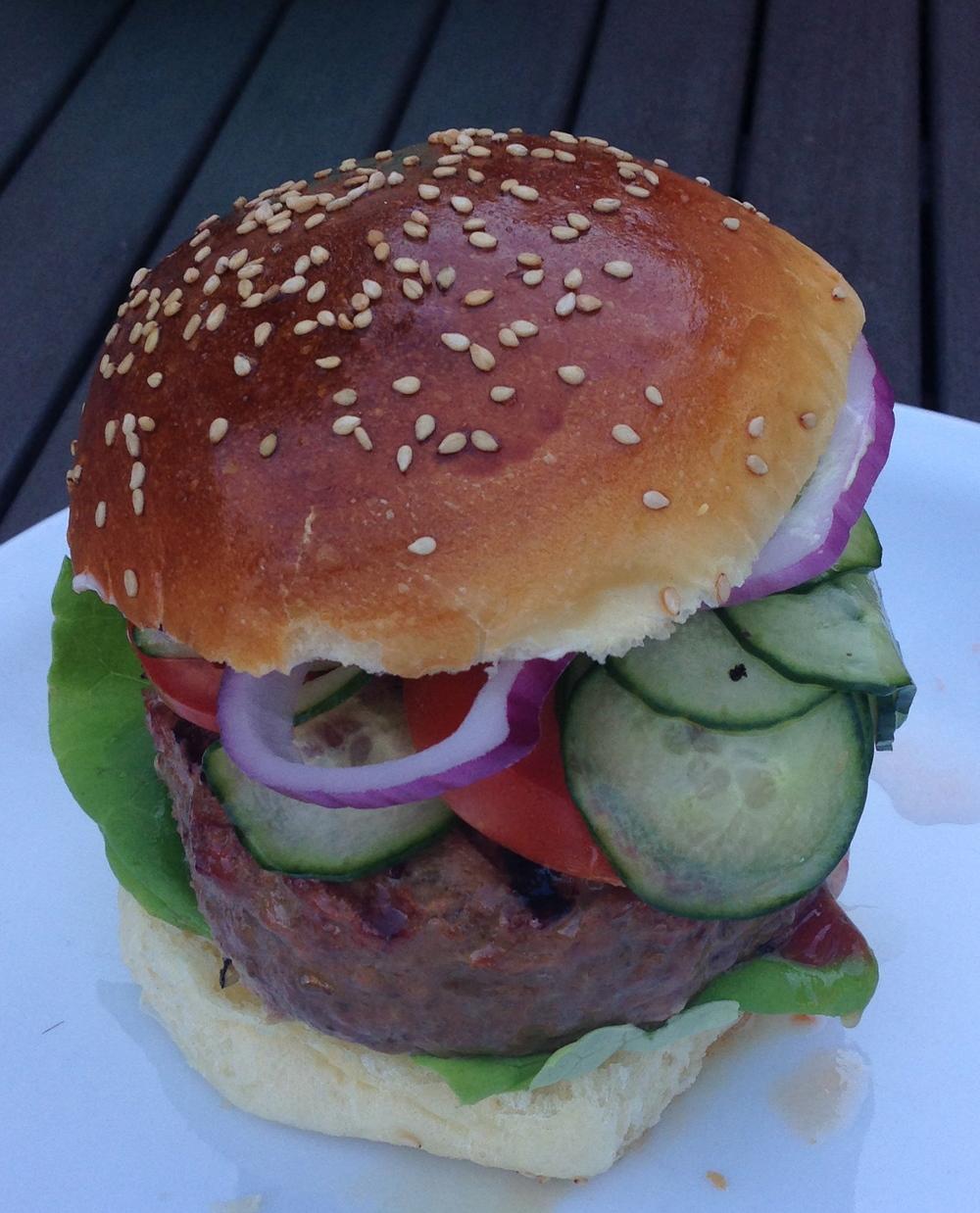 Gourmet Burger.