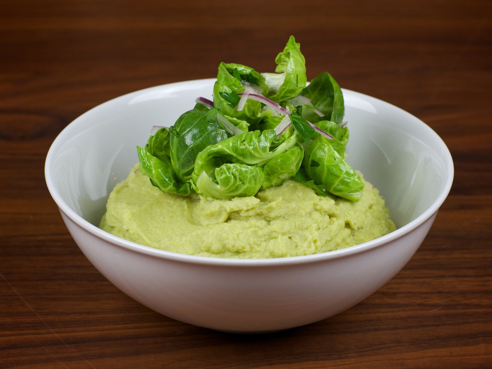 Brussels Sprouts Puree.
