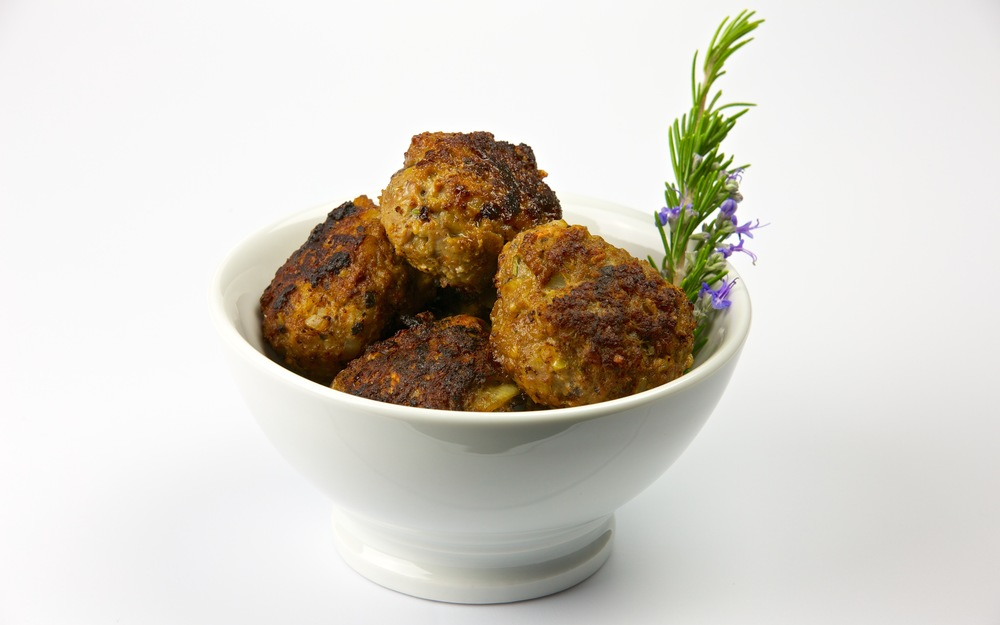 Greek-style Lamb Meatballs