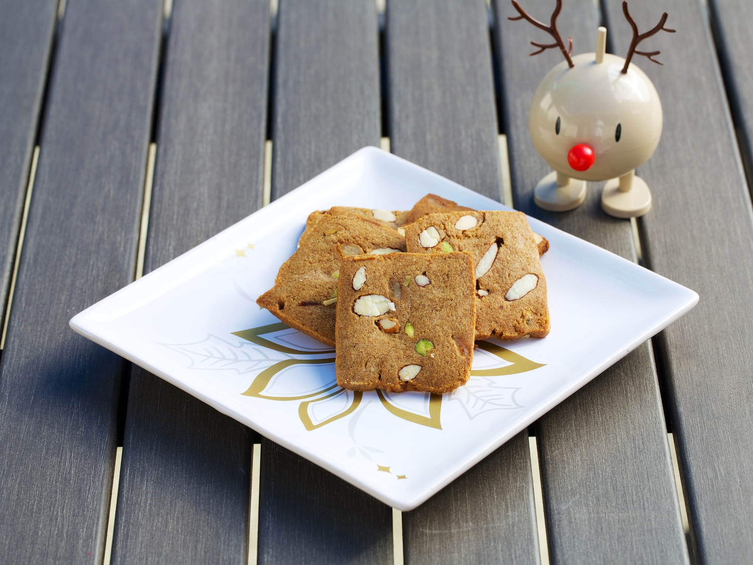 Danish Gingerbread Cookies Brunkager Sweet Sour Savory