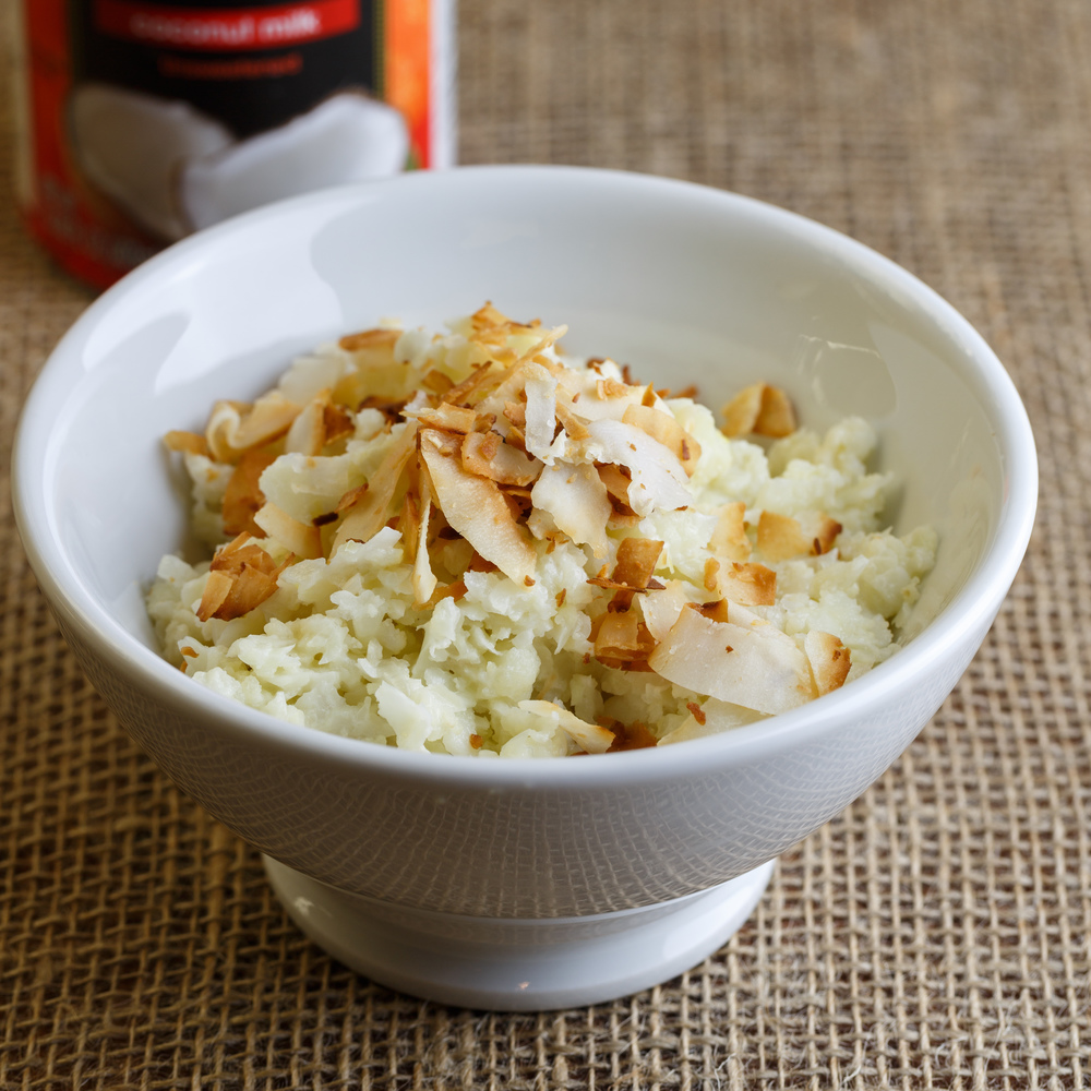 Coconut Cauliflower Rice.