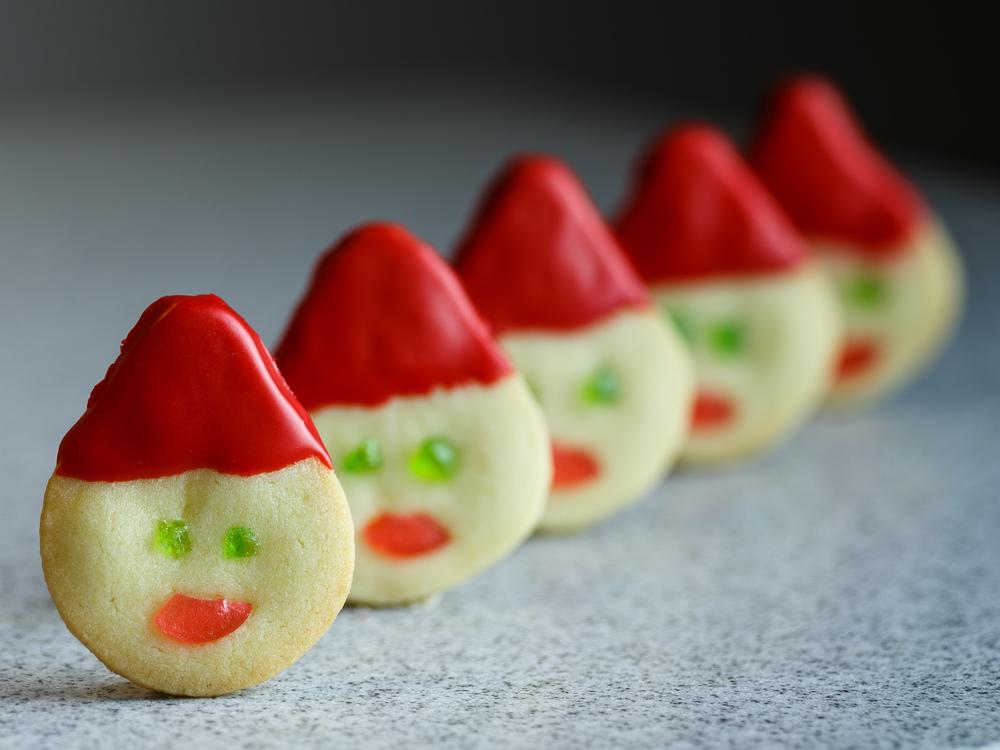 Elf Cookies - Nissehoveder