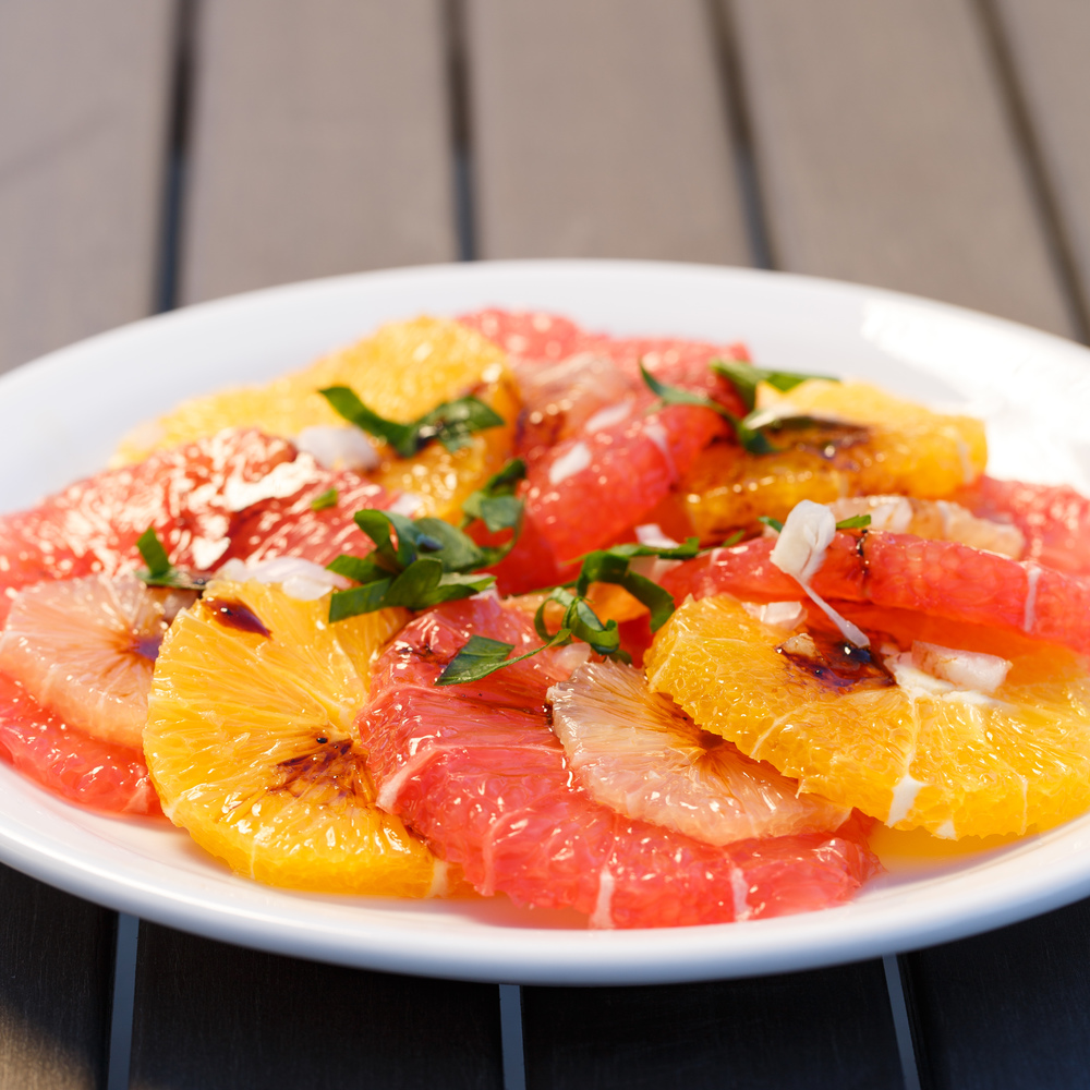 Citrus Salad with Liquorice Vinaigrette