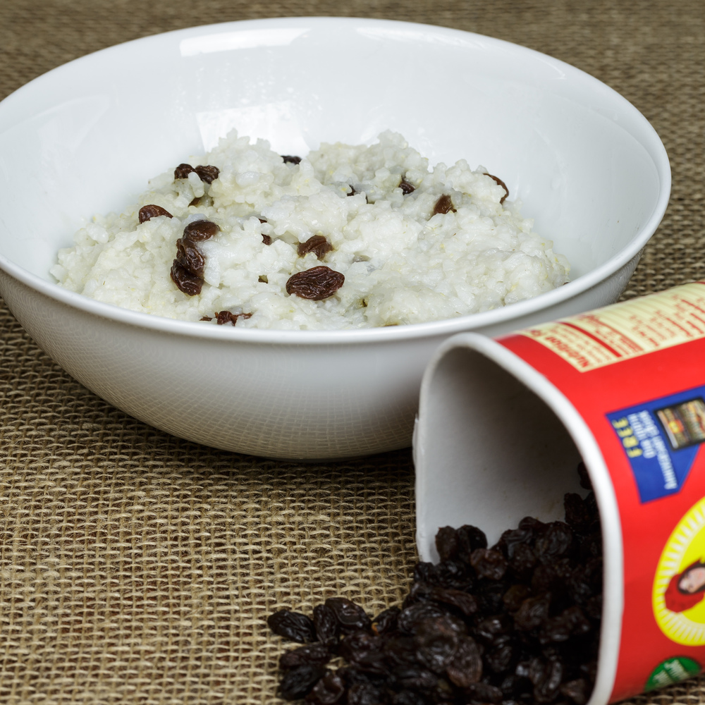 Supperis - Cold Rice Porridge with Raisins