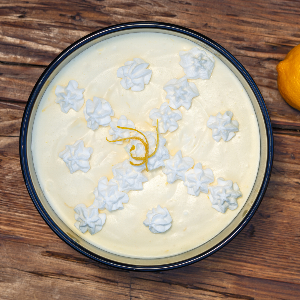 Danish Lemon Mousse - Citronfromage