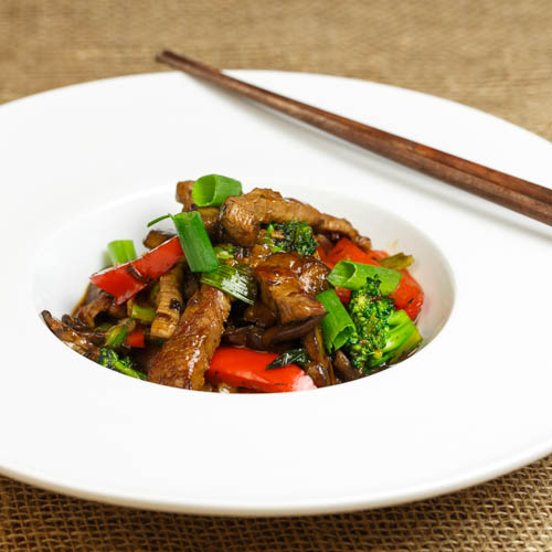 Stir-fried Beef in Oyster Sauce