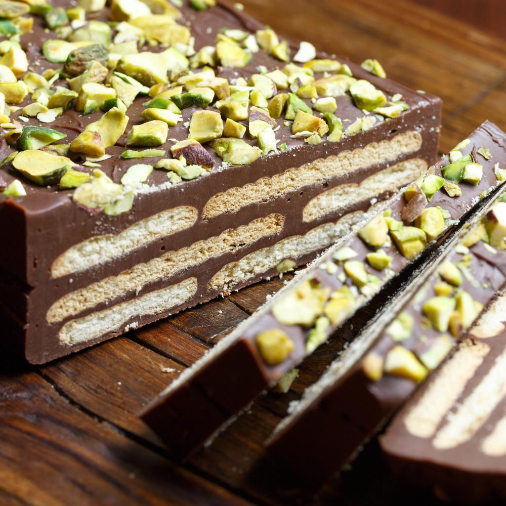 Kiksekage - Chocolaty Biscuit Cake