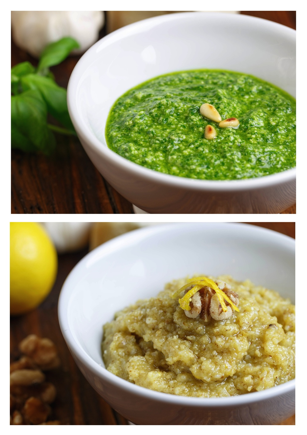 Pesto - Classic and Walnut Pesto