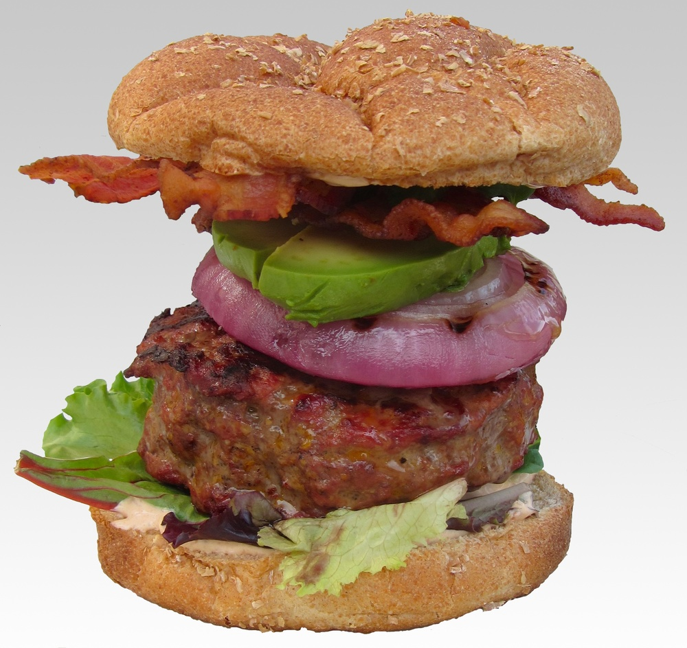 Triple-Smoke Burger — Sweet • Sour • Savory