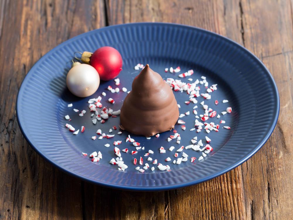 Christmas Cream Puffs - Pebermynteflødeboller