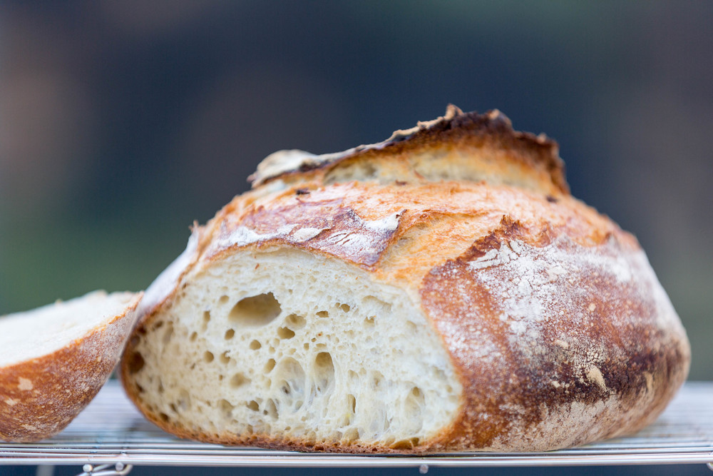 Basic Country Bread a la Tartine