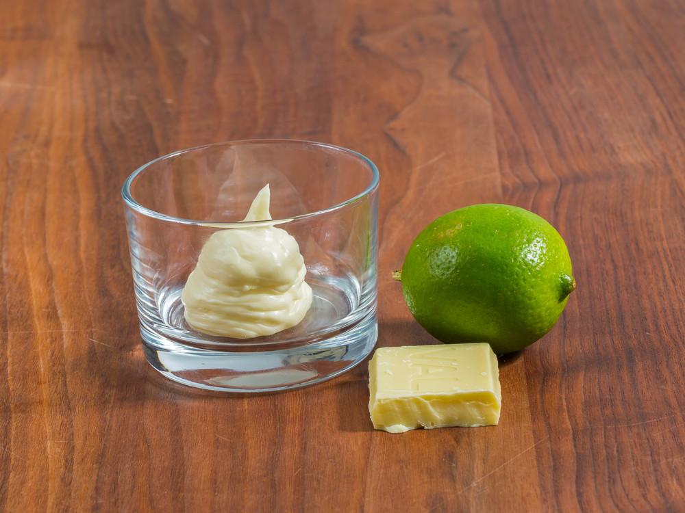 White Chocolate/Lime Ganache