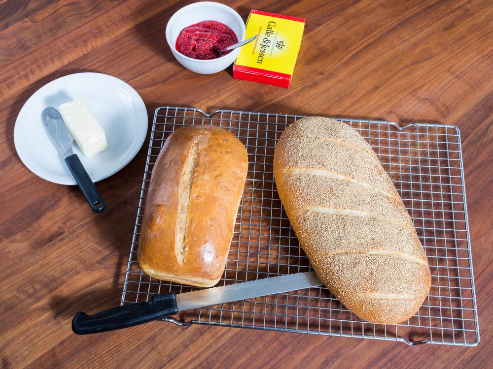 Sødmælksfranskbrød - Whole Milk Bread
