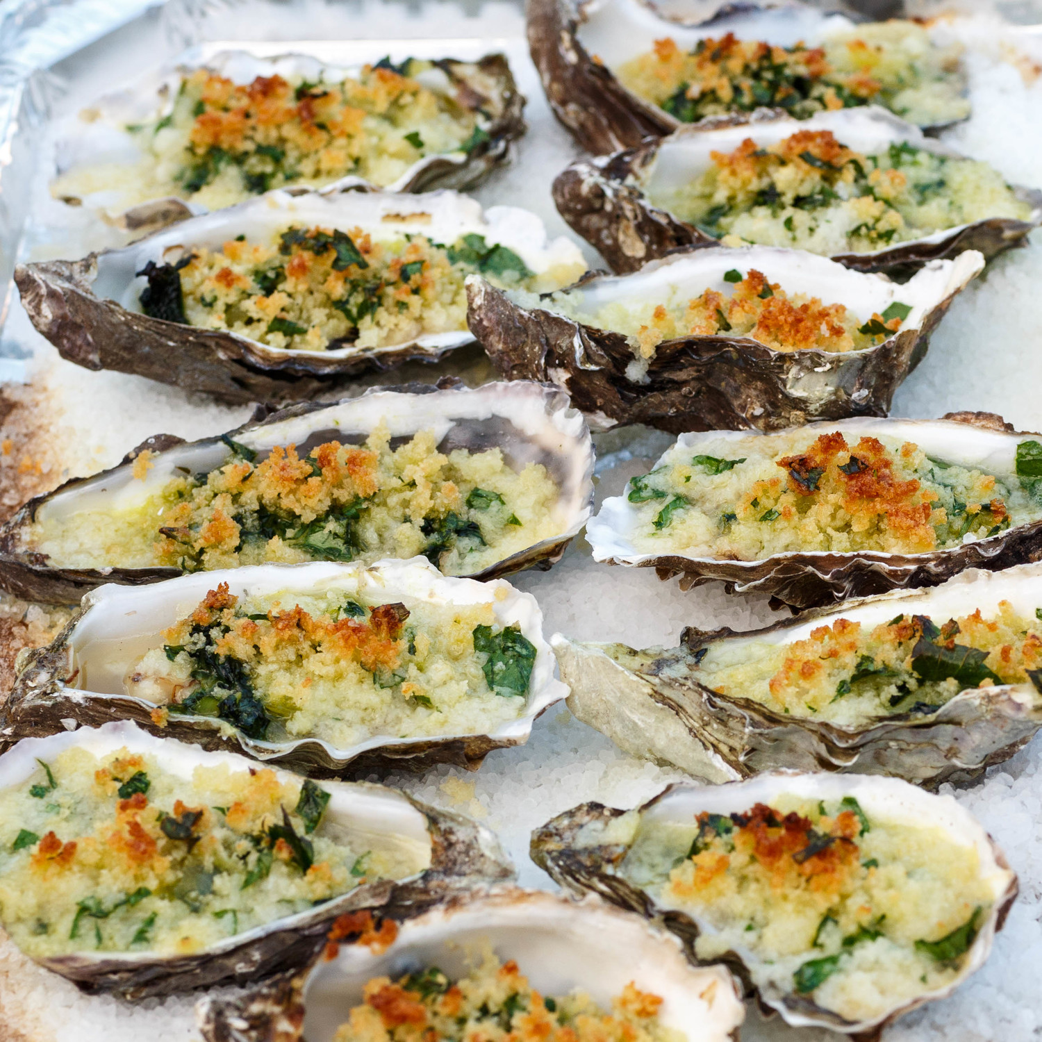 Oysters Rockefeller — Sweet • Sour • Savory