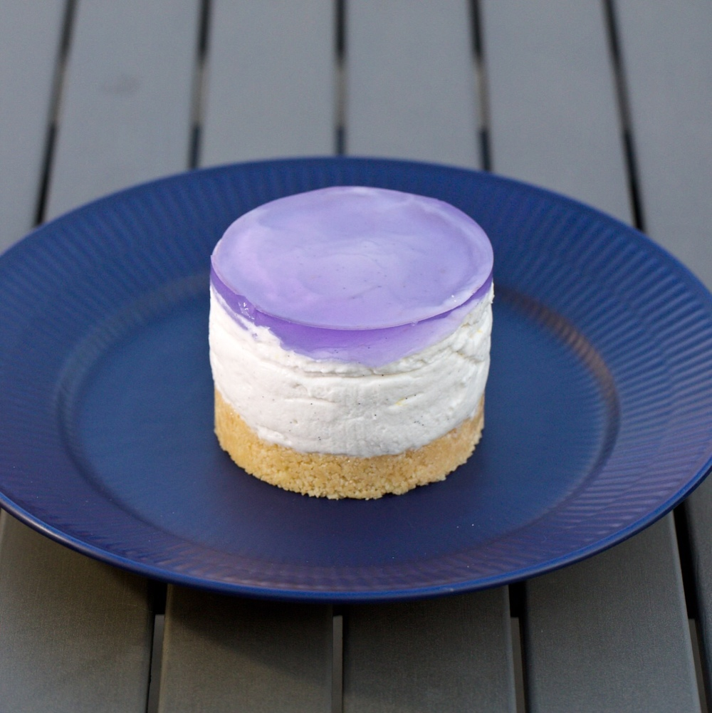 Lemon Lavender Cheesecake