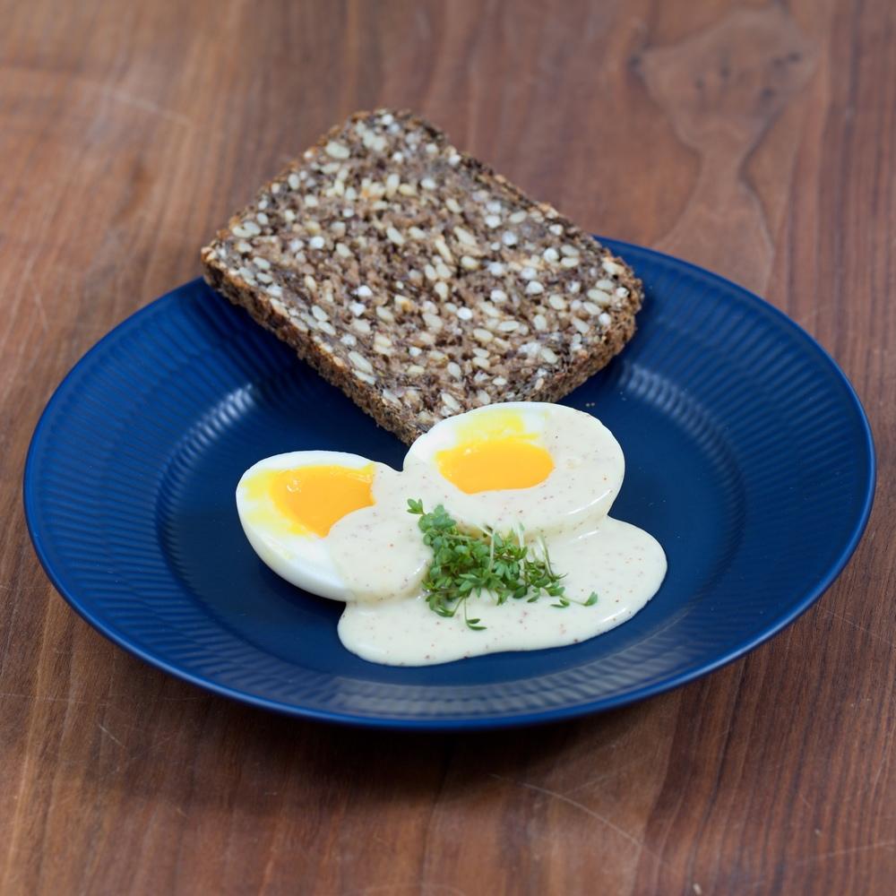 Skidne Æg - Eggs in Mustard Sauce