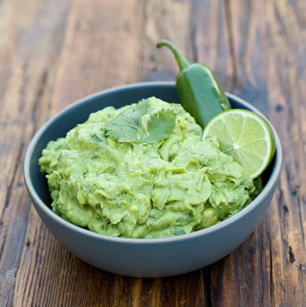 Guacamole - The perfect snack.