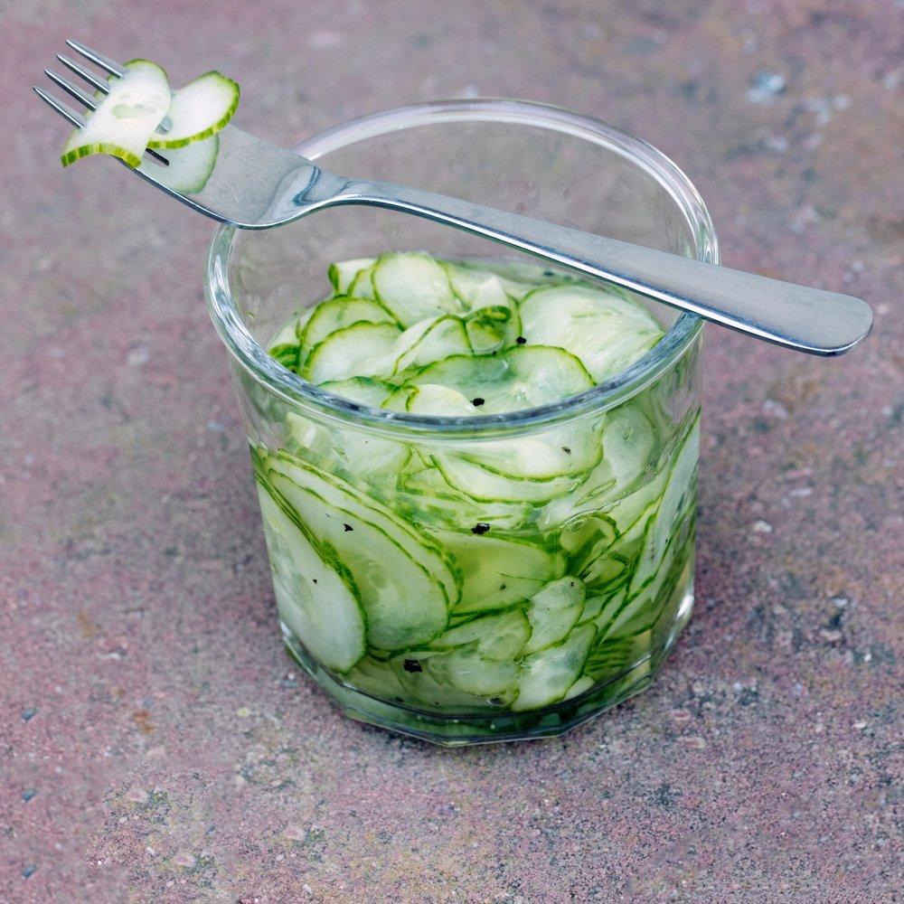 Danish Cucumber Salad