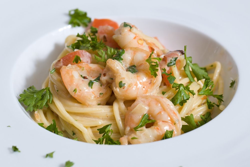 Chardonnay Shrimp Pasta
