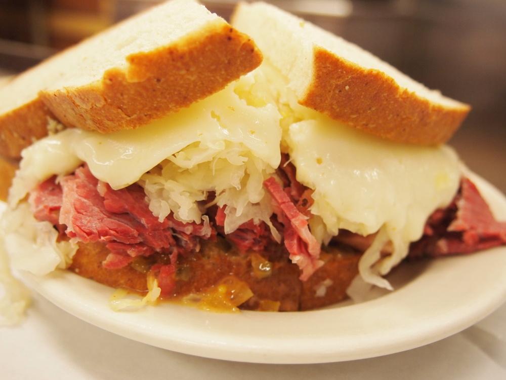 the ultimate Rueben sandwich....
