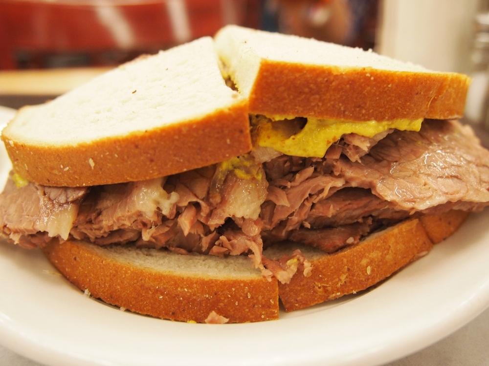 the Brisket sandwich...