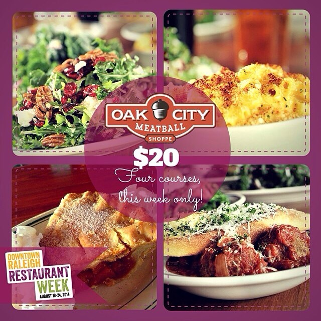 Restaurant Week - you can enjoy this delicious spread for just $20! #DTRRW #howdoyouball