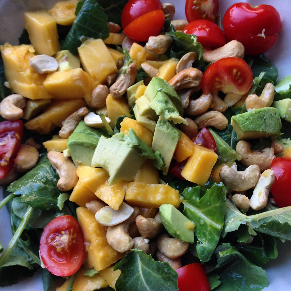 Make CSA night salad night! And other helpful tips....