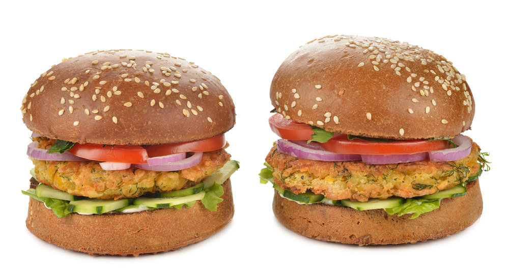 © Olyina | Dreamstime.com -Vegetarian burger