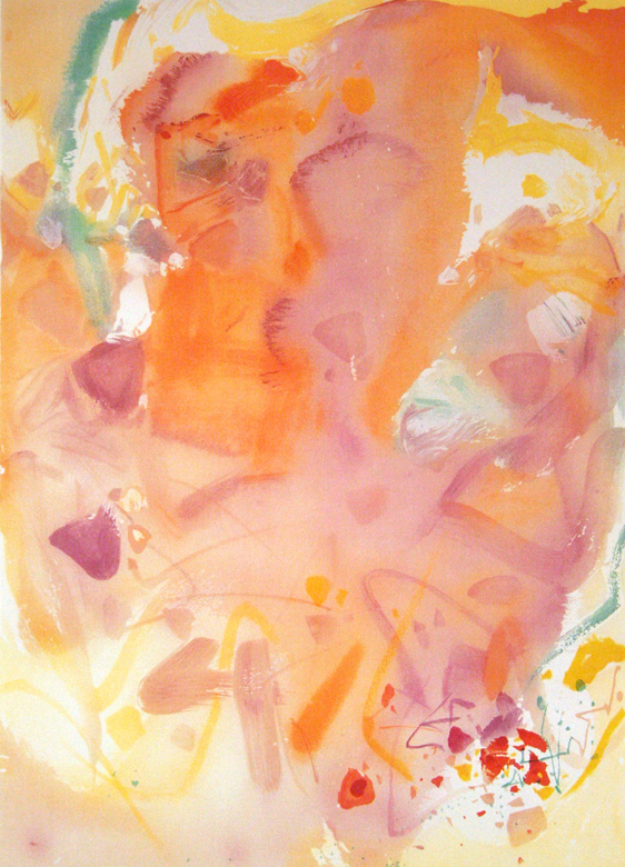 歡樂時光 97 x 70cm 2004 原創石版畫 版幅150