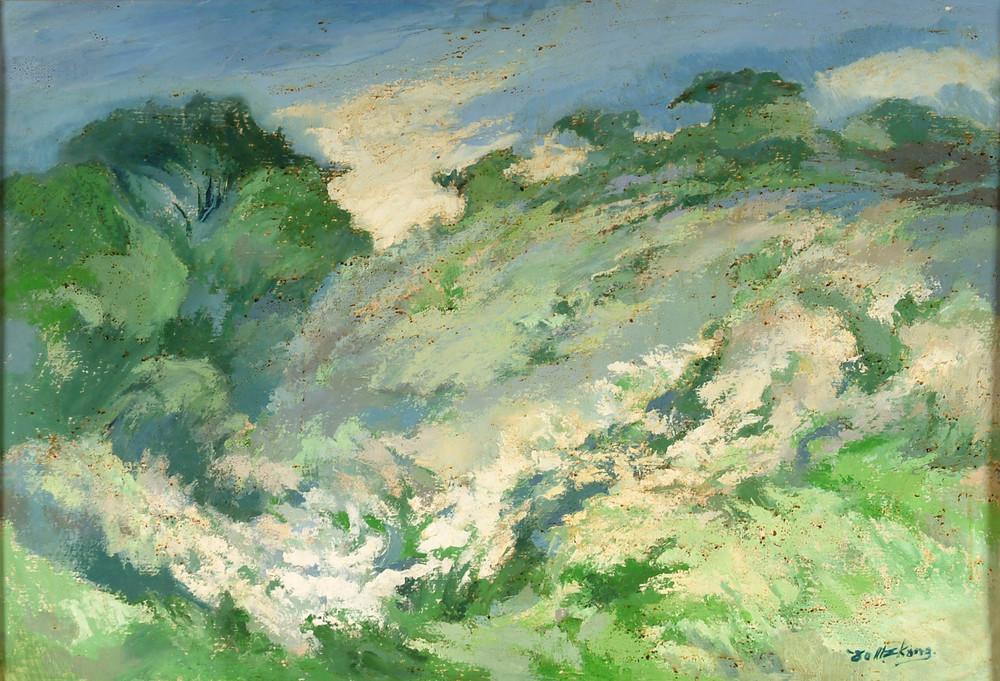 望  80x117 cm  油畫   1978