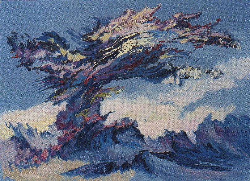 港口   65x91   油畫   1987