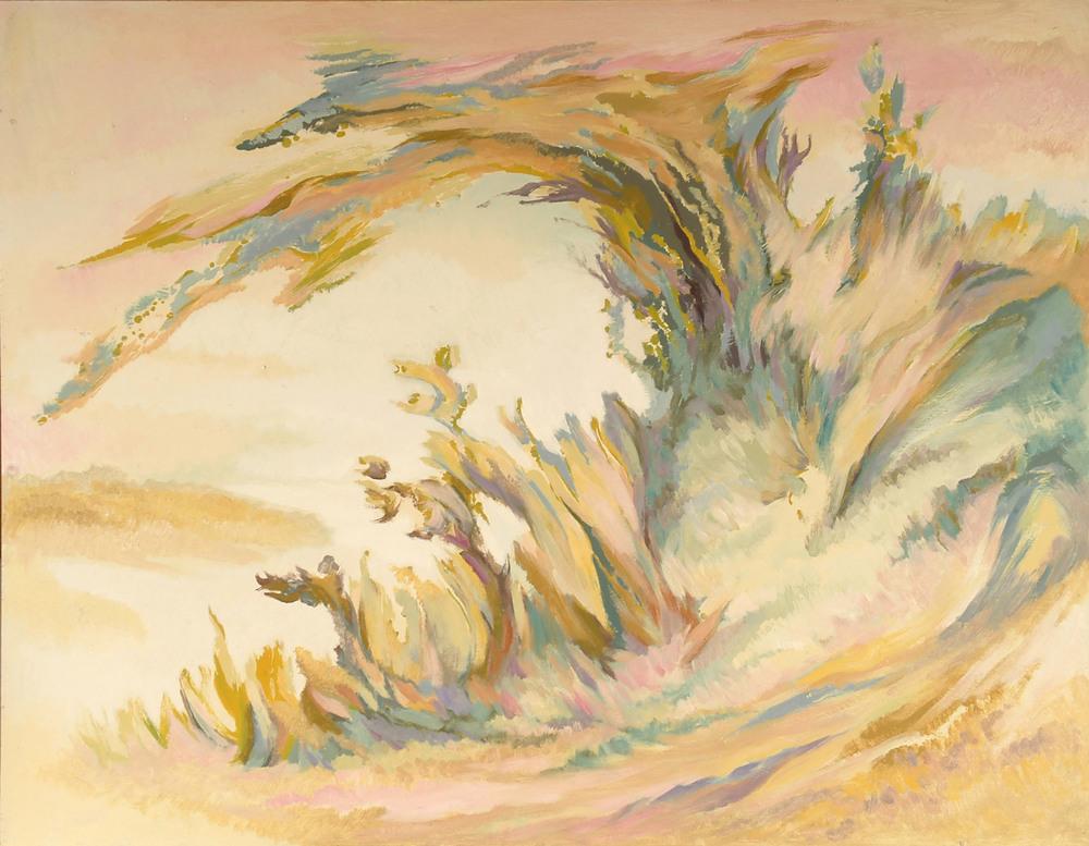 叢  91x117 cm  油畫  1987