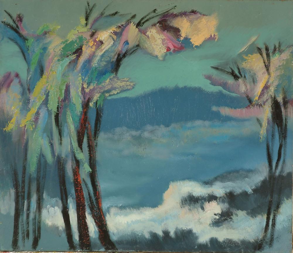 迎  65x91  油畫  1987