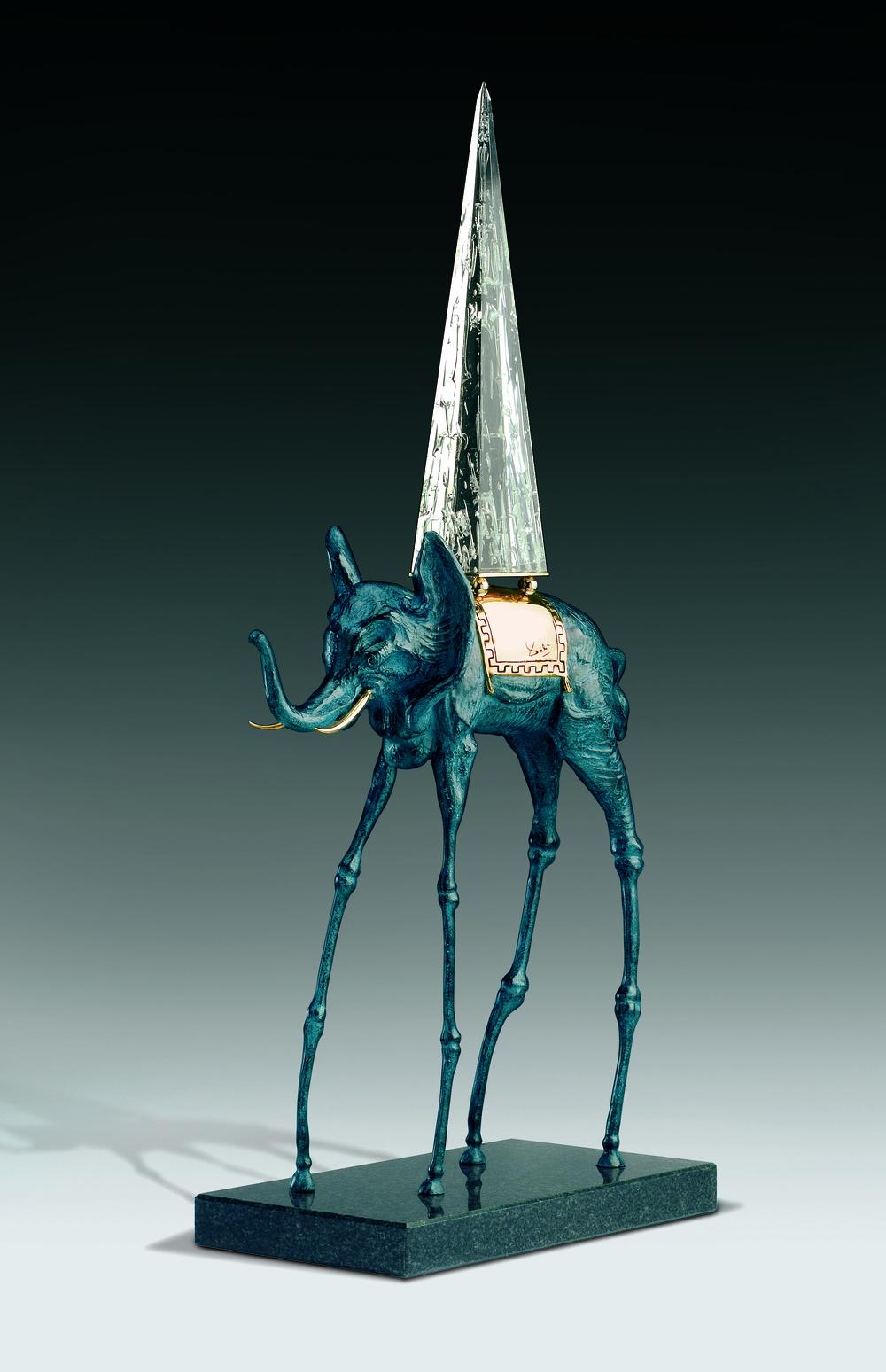 太空象  94cm  銅