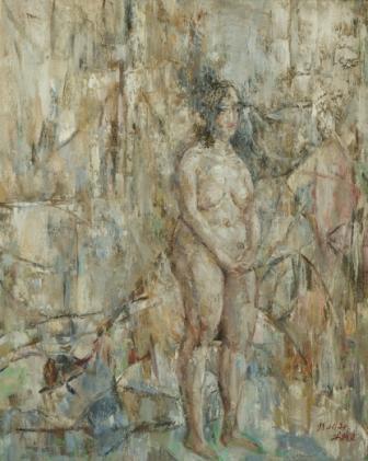 馮曉東 裸女 80x70 cm 油彩畫布