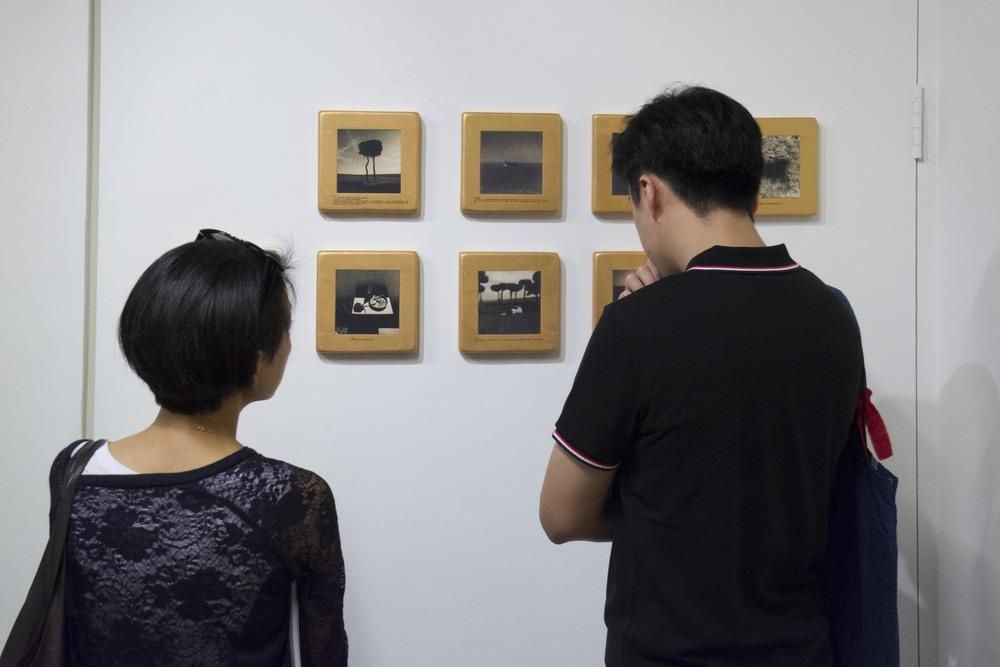 翁明哲銀鹽攝影作品與自製手工木框