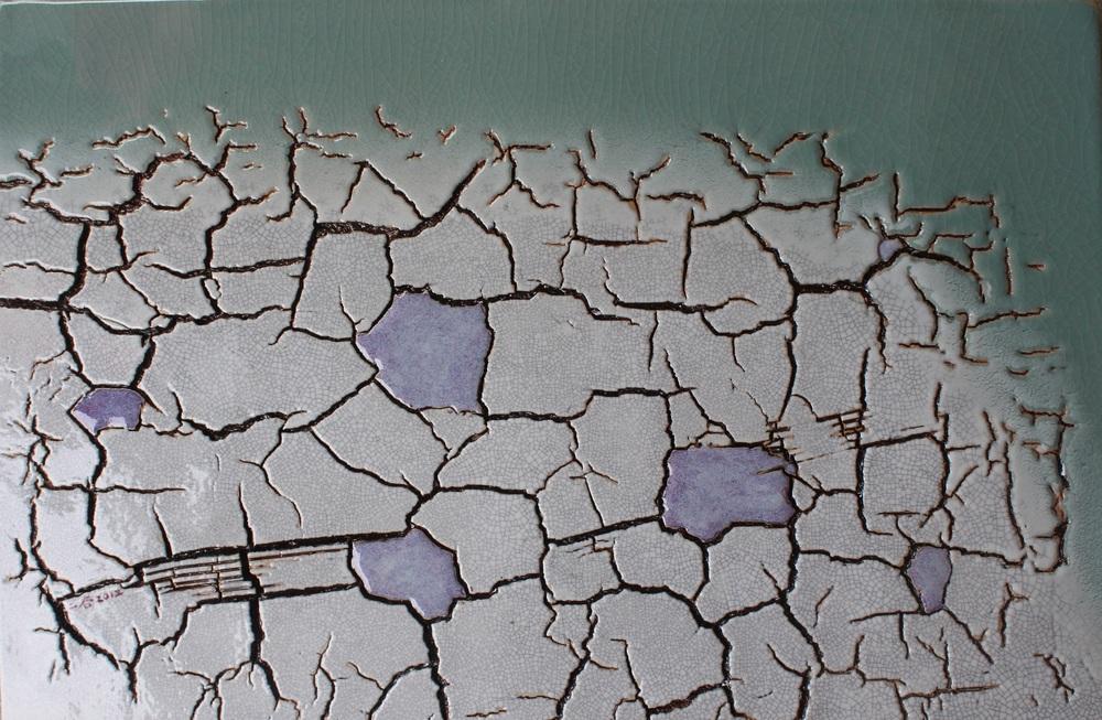 林振龍 《大地瓷板》