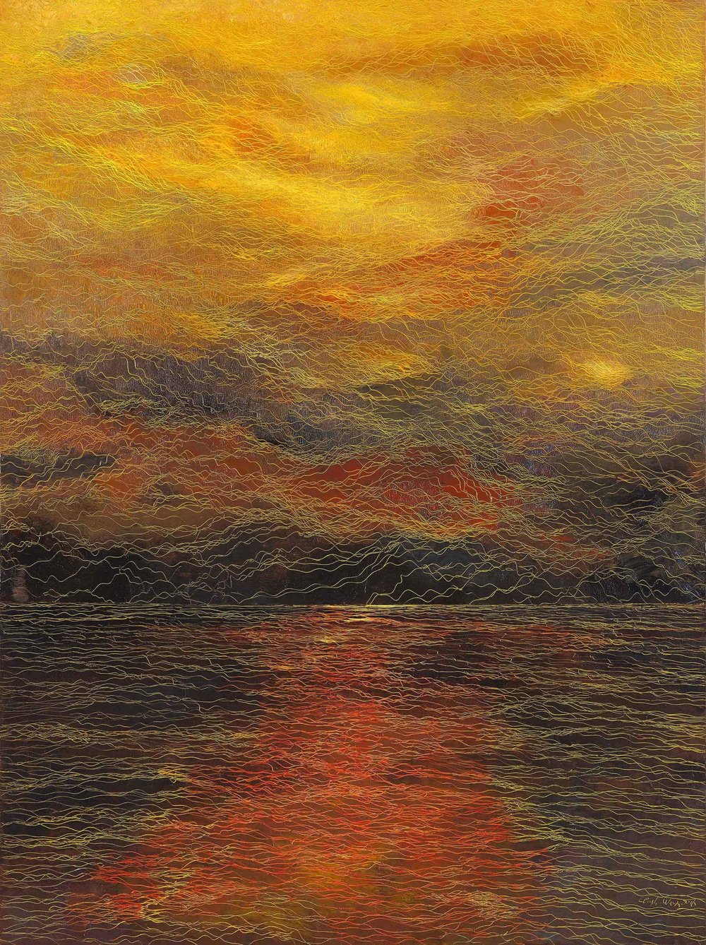 莫內與透納的對話 The conversation between Monet and Turner