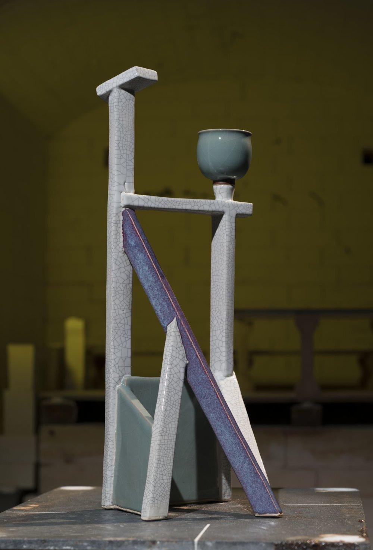 林振龍 空間釉彩系列 24×23×56cm 2018 陶瓷
