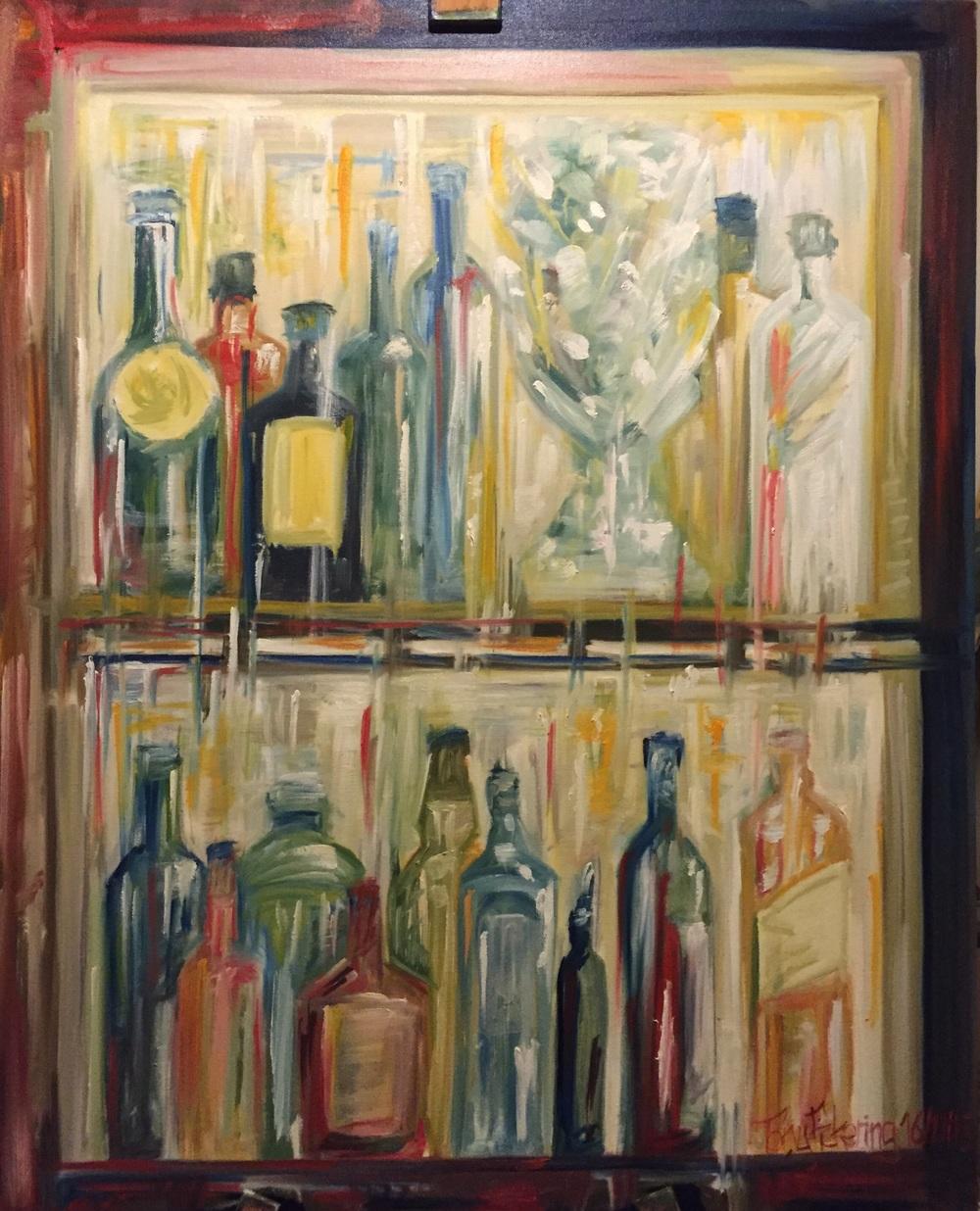 """Light and glass: bar impression"""