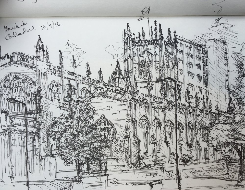 """Manchester Cathedral"""