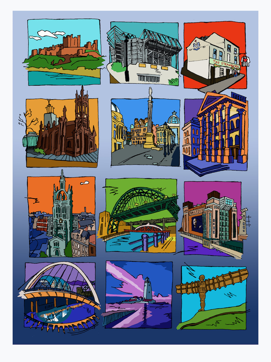 fig.1:    City Tales: Newcastle