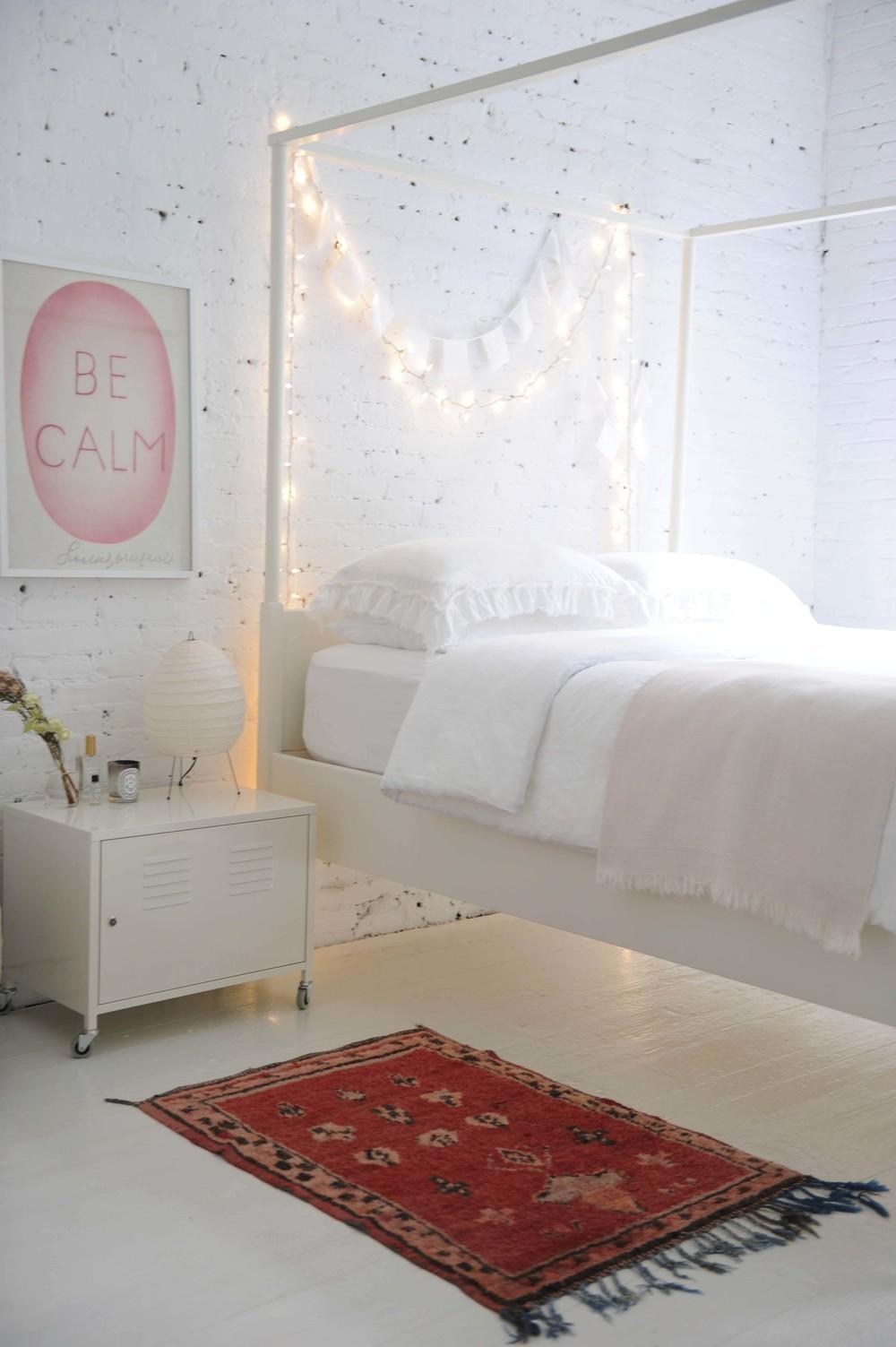 String Lights For Bedroom : Simple Bedroom String Lights Bed - ikea / string lights