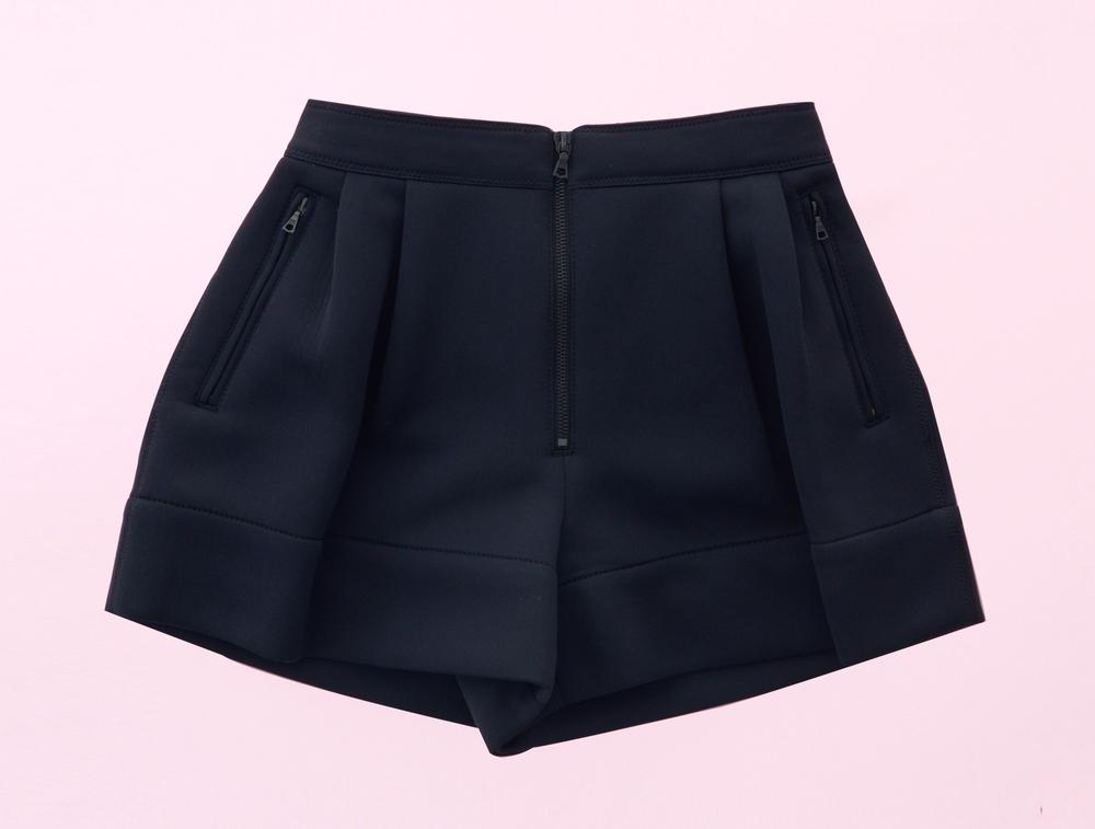 3.1 Phillip Lim Neoprene Bloomer Shorts