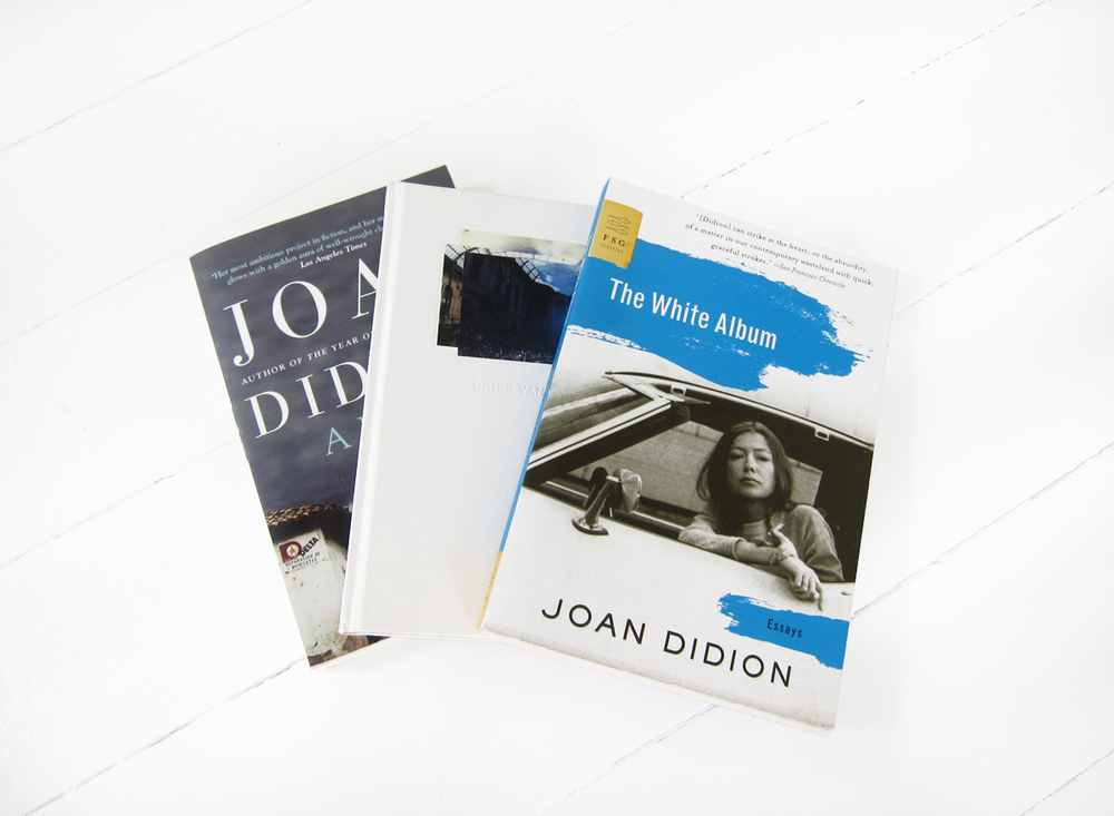 A Book of Common Prayer and The White Album by Joan Didion, Dries Van Noten archive lookbook