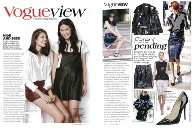 Vogue Australia, May 2012