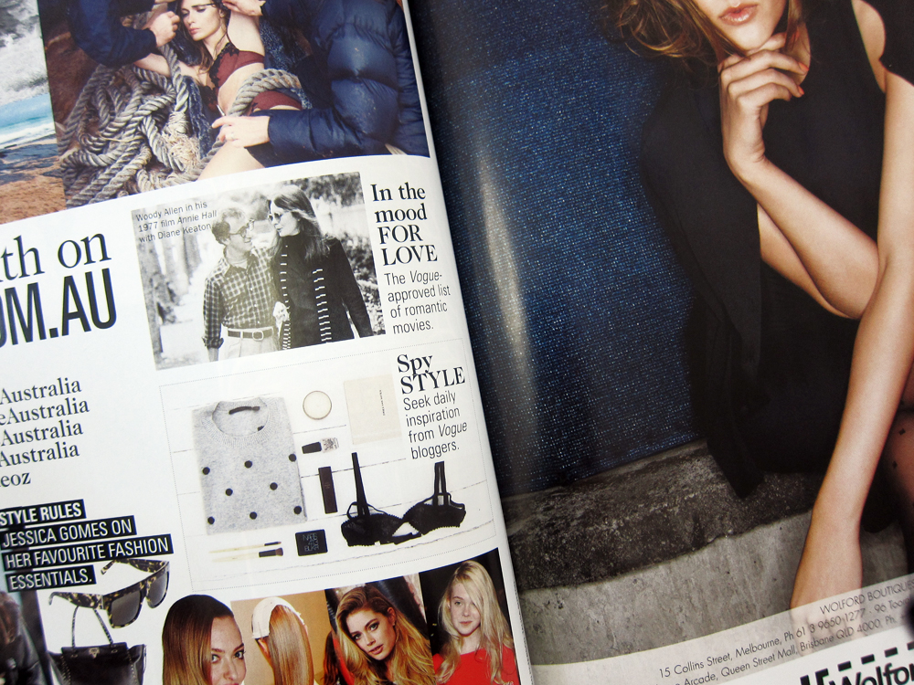 Vogue Australia, August 2013
