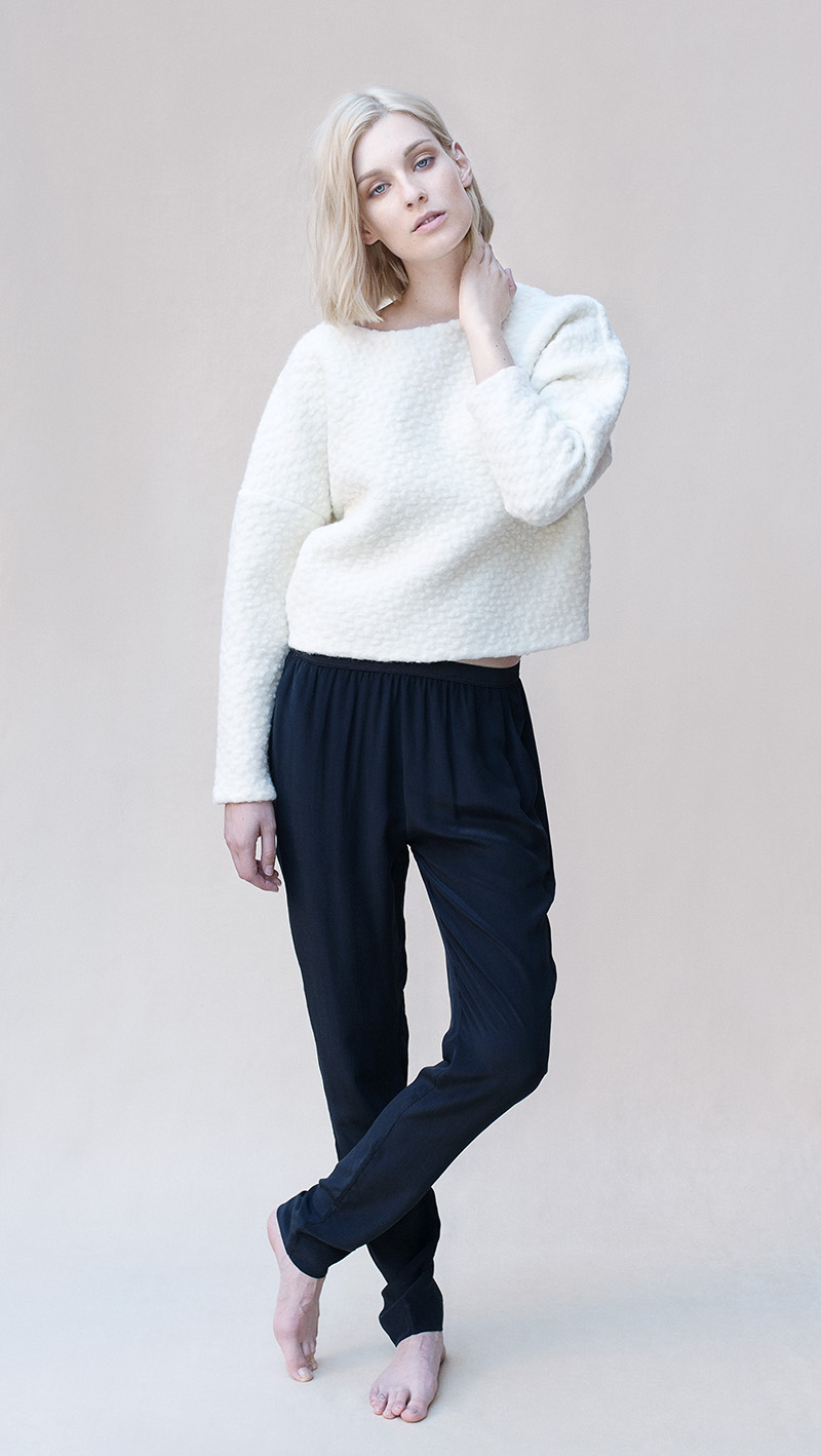 Unif.m knit, Skin & Threads trousers