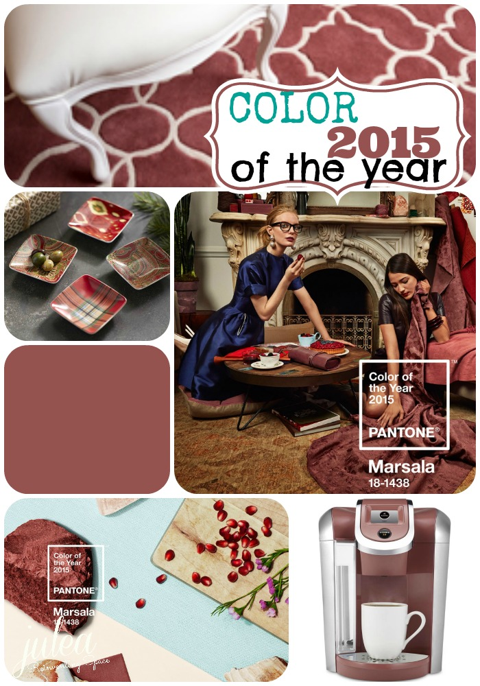 PANTONE Marsala (Photo gallery selections: Source)