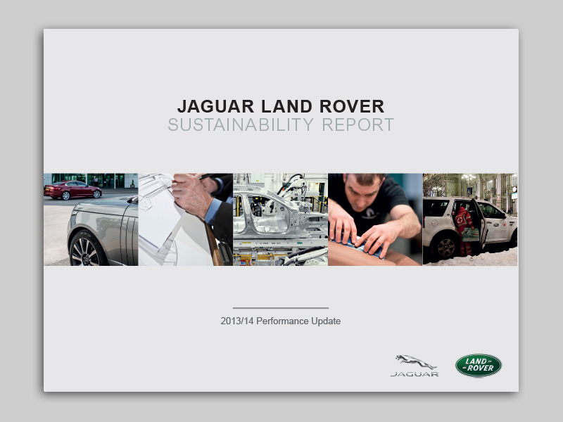 Annual Report Design - Jaguar Landrover